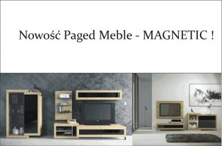 Nowość Paged Meble - MAGNETIC !